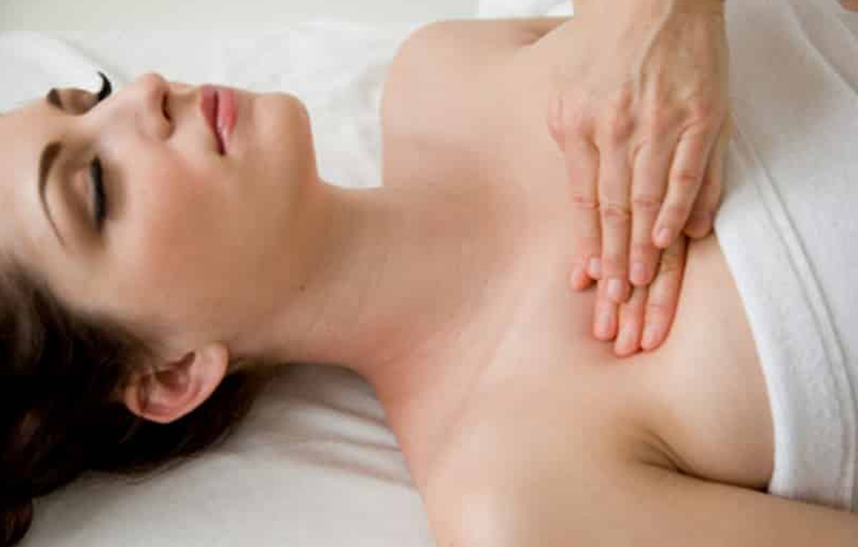 Lymphatic drainage treatment for congestion and holistic health